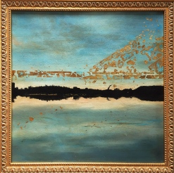 16_SunsetAt02467_OilsGoldLeaf_Canvas